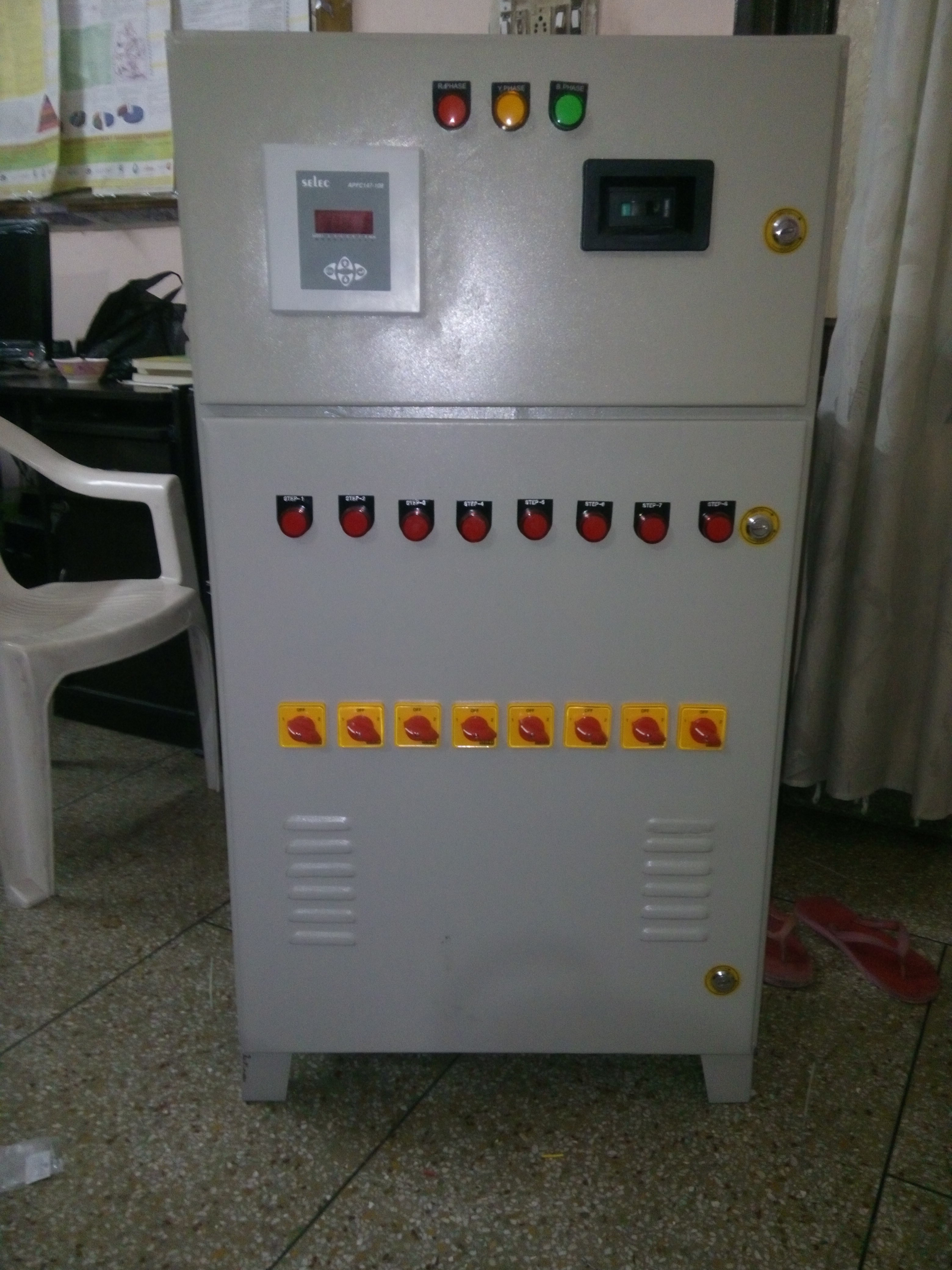 APFC ( Automatic Power factor Controller)