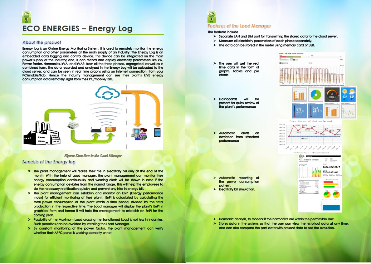 Energy monitoring System for the Main Supply