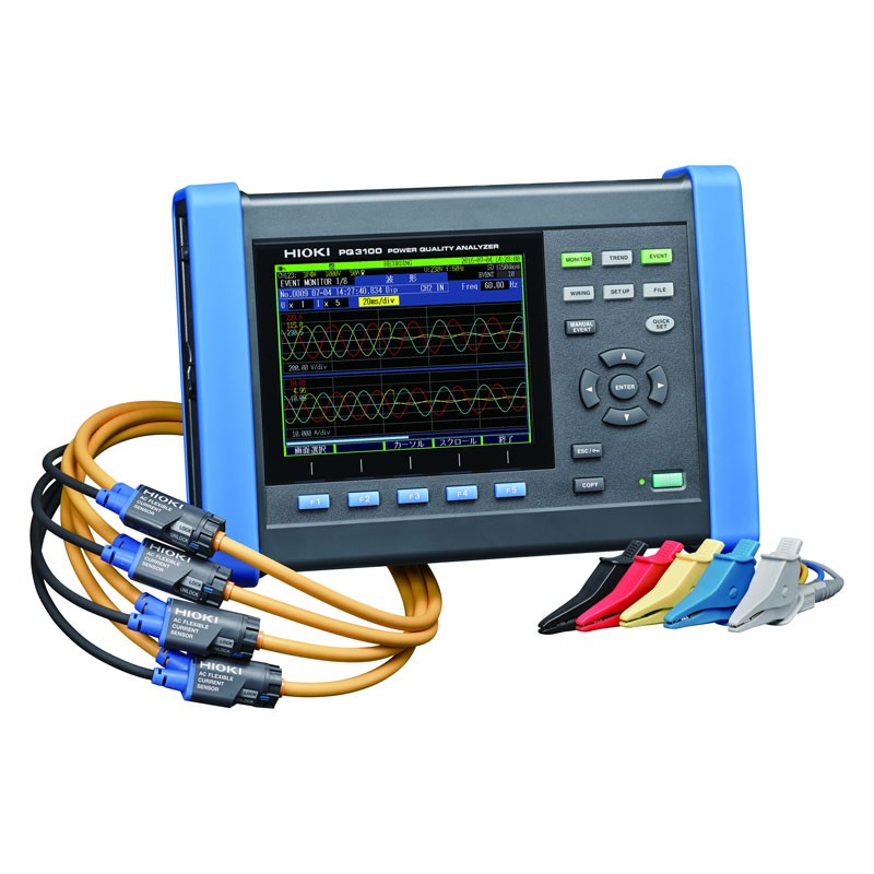 Three phase power analyzer